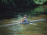 - The River Thames – home to numerous rowing clubs -
